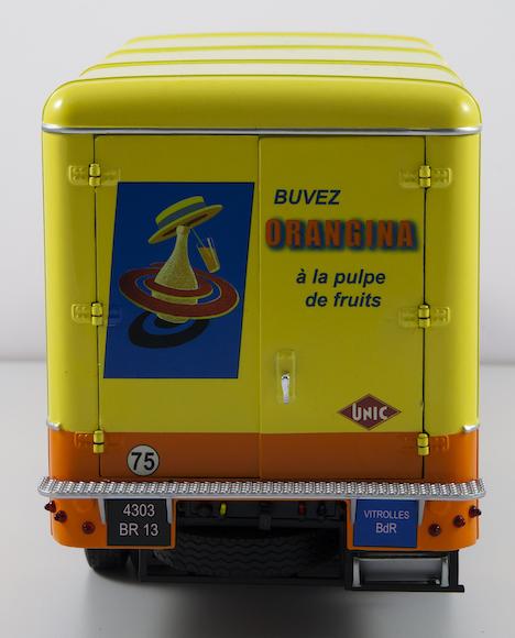 UNIC ZU122 IZOARD fourgon