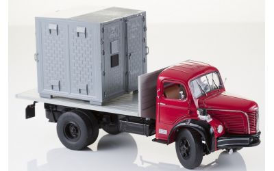 BERLIET GLR 8 P porte conteneur