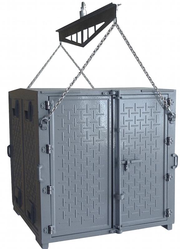 BERLIET GLR 8 R plateau porte conteneur