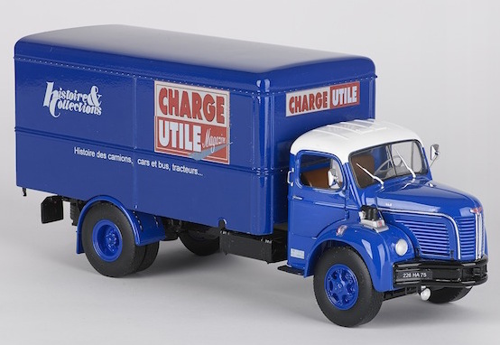 BERLIET GLR fourgon CHARGE UTILE